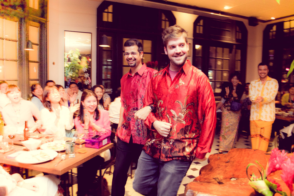Red Hat year-end Celebration @ Raffles Hotel