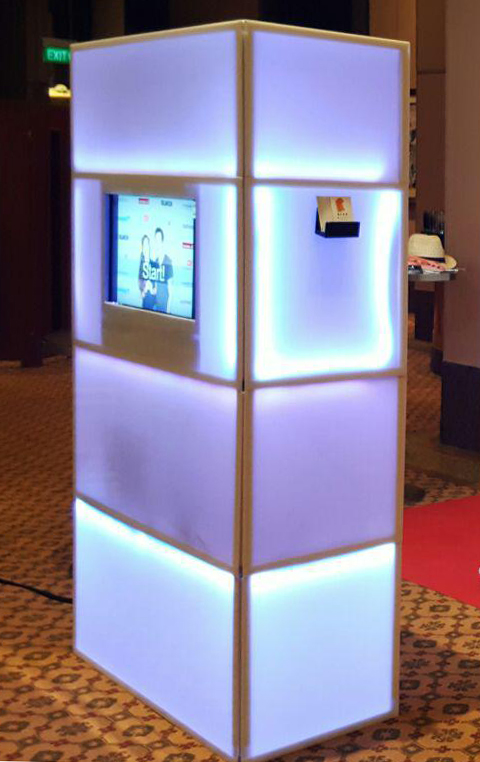 Lighted Photo Booth